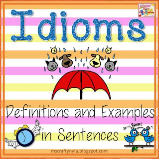 Idiom definitions examples