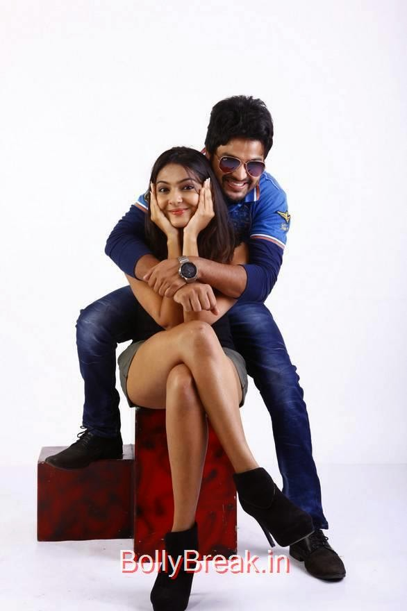 Rahul-The Bells Cinema Stills, Neha Deshpande hot Pics in Shorts, Black Top from The Bells Movie