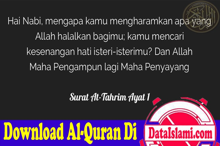 Download Surat At Tahrim Mp3 Full Suara Merdu Data Islami