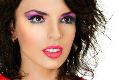 Yoli Befa Maquillaje Años 80