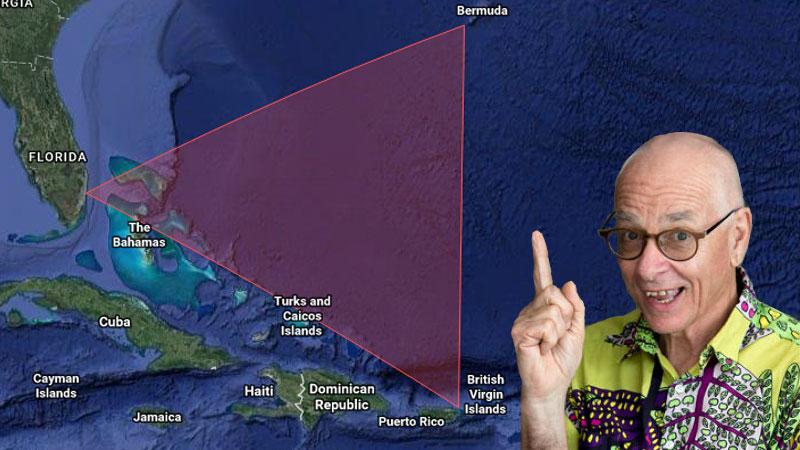 Dr Karl Kruszelnicki dan Segitiga Bermuda