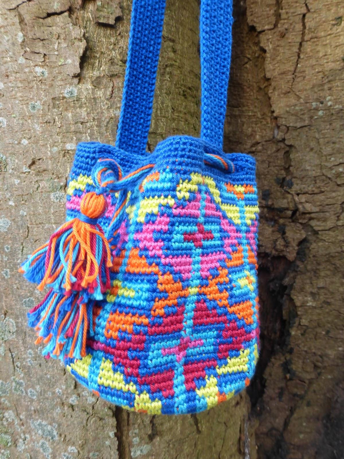 Mochila Haken En Freeform Knitting