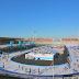 Primeur in Olympisch Stadion: een ijsbaan op windenergie