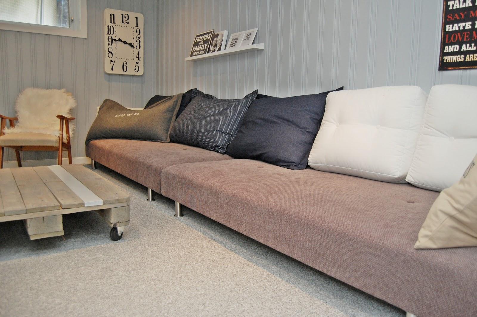 Ryddig HEGEMOR.COM: Hjemmelaget sofa UB-12