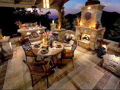 Tuscan Style Patio Backyard And Patios