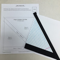 Paper Airplanes Quilt Pattern and beginner video tutorial with Leah Day