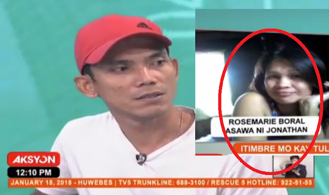 Husband asked help from Raffy Tulfo because her wife cheated him 6 times