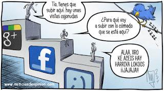 Redes sociales: Facebook, tuenti, twitter, LinkedIn. Conceptos básicos. Comparar.