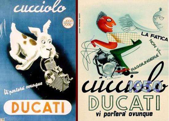 Ducati Cucciolo advertising