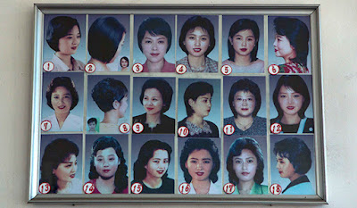 North Koreans are allowed to wear only short hairstyles. There are 28 types of haircuts approved by the country s administration...