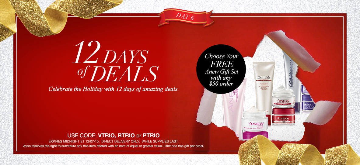 Avon Free Gift With Purchase Day 6 - December 2015