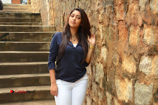 Actress Anu Emmanuel Latest Pictures in White Jeans  0168.JPG
