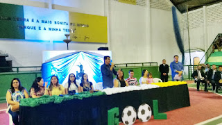 Prefeitura de Picuí abriu jogos escolares da rede municipal de ensino nesta sexta-feira (8)