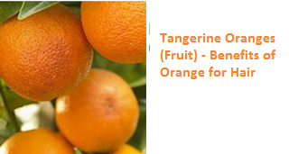 Benefits of Tangerine Fruit for Hair