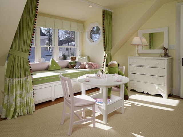 Curtain color ideas for the interior
