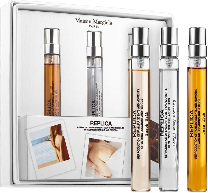 Maison Margiela MAISON MARGIELA - REPLICA Travel Spray Set(Beach Walk, Lazy Sunday Morning, Jazz Club