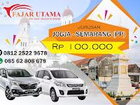 Travel Semarang Jogja - Fajar Utama  08562808678