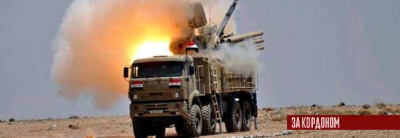 Ізраїльські ВПС знов знищили Панцир-С1 у Сирії