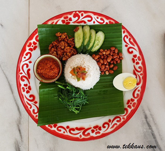 Nasi Lemak Enjoy Halal Organic Food at Ku Cha Be 古早味