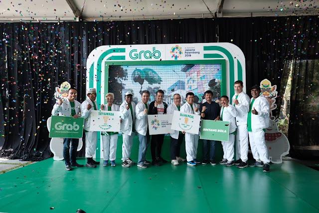Jelang Asian Games 2018, Grab Kobarkan Semangat Kemenangan