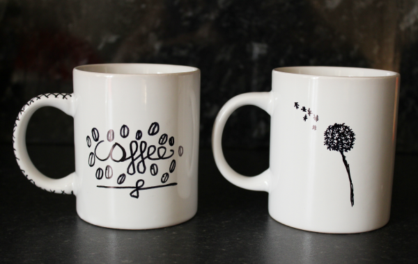 d72d6a31029 And there you have it, DIY Sharpie mugs! This is a great way to easily turn  simple, plain mugs into something special and personalised.