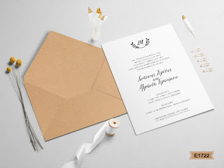 wedding invitations in rustic style