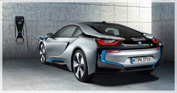 2020 BMW i8 All-Electric Range With 750 HP