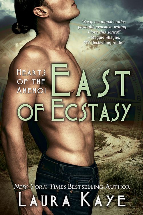 Cover Revealed - East of Ecstasy (Hearts of the Anemoi 4) by Laura Kaye