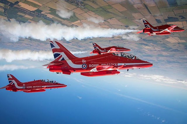 Red Arrows American tour schedule