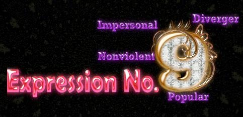 Expression Number 9 Personality in Details - Forest for Women