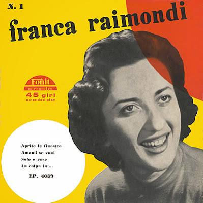 Sanremo festival sanremo 1956 franca raimondi aprite le finestre - Aprite le finestre ...