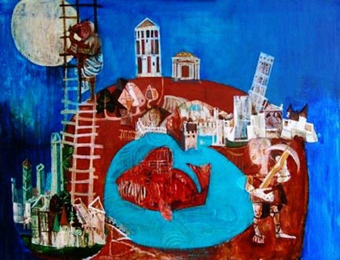 Армянский художник. Samuel Gareginyan
