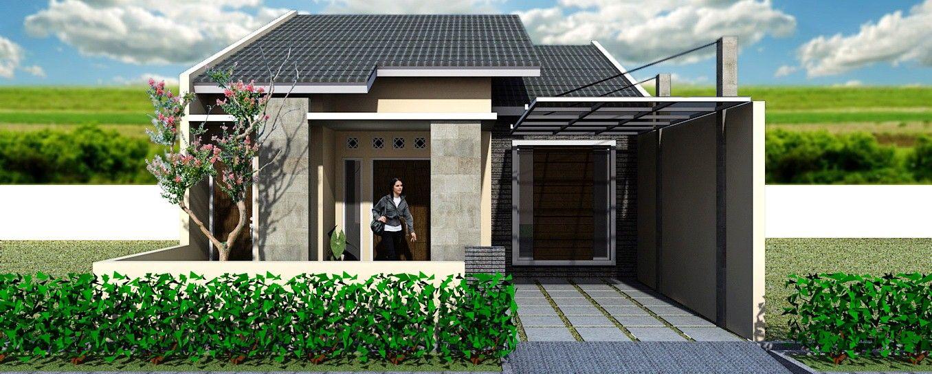 contoh sketsa rumah sederhana idaman
