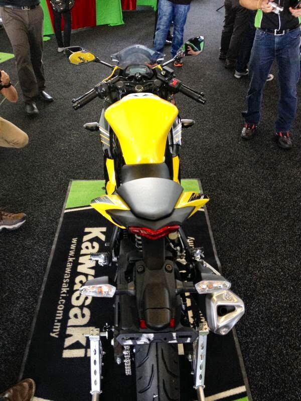 Kawasaki Ninja 250SL 2014