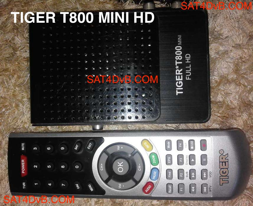 mise a jour tiger t800 full hd 2017