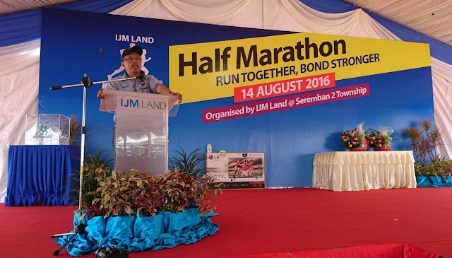 IJM Land Half Marathon 2016, Dato Hj Abdul Halim bin Abdul Latif,