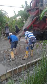 Insfratuktur Perbaikan Jalan Kampung Rawa Lele Wanajaya Cikarang Jati