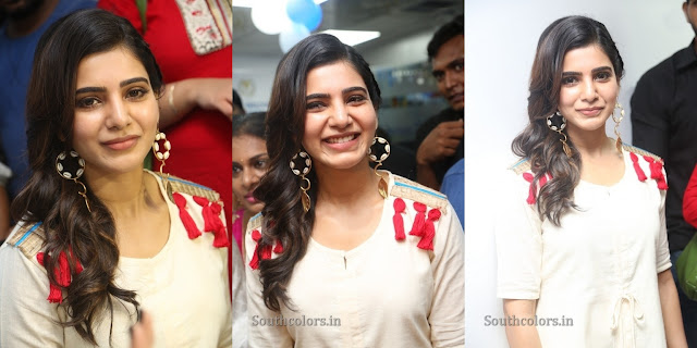 Samantha Launches VCare Clinic Photos
