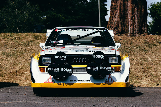 Audi Quattro 1980s German sports car