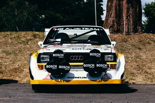 Audi Quattro 1980s German modern classic car