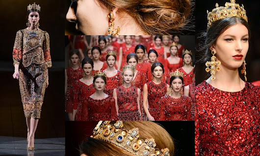 Dolce and Gabbana crowns are so in trend now!