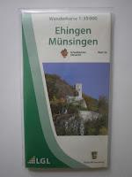 3. Auflage 2018 der Wanderkarte 1:35.000 Ehingen Münsingen