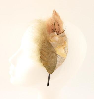 OI 1617 - Coleccion Cobre pluma - Diadema Tocado