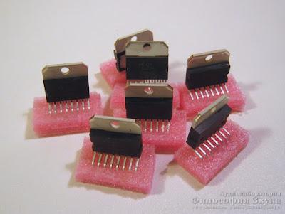 """TDA7294 Hi-Fi усилителя """"Кристалл"""" на TDA7294"""