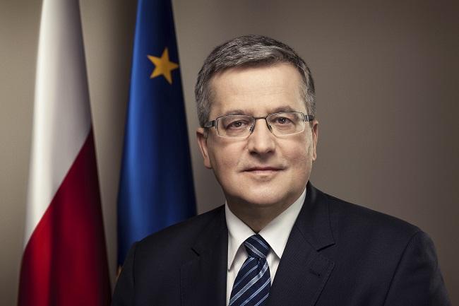 Prezydent Bronisław Komorowski - fot. prezydent.pl