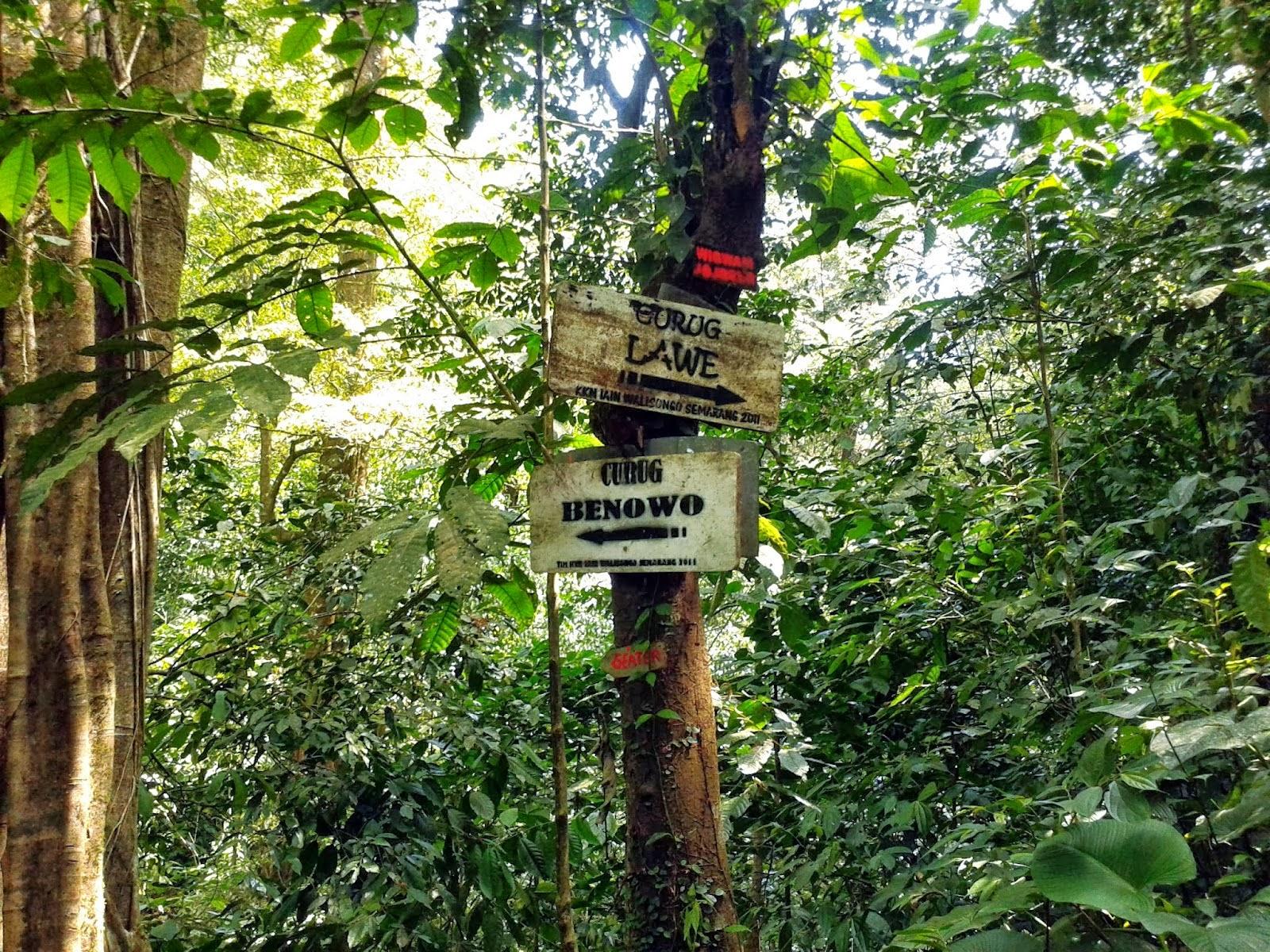 Curug Lawe dan Curug Benowo - wisata semarang