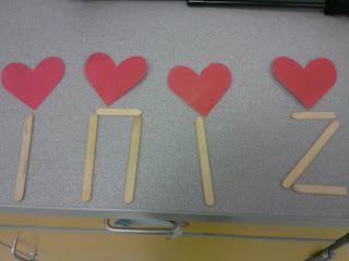 Popsicle stick rhythm manipulatives: Blog post includes directions for making and strategies for using!