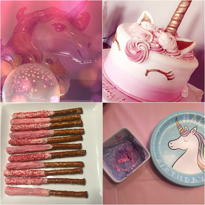 Unicorn Party Rose Gold Pink