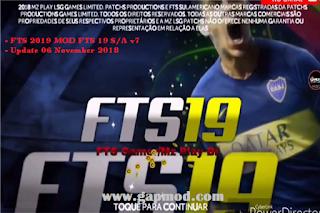 FTS 2019 Mod FTS19 SA v7 Update Transfers