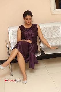 Television Anchor Shilpa Chakravarthy Pictures at Pratikshanam Audio Launch 0236